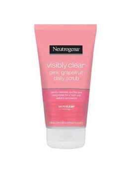 Neutrogena Visibly Clear Pink Grapefruit Daily Face Scrub in Carnesia