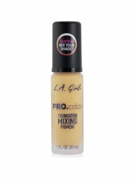 LA Girl Pro Color Foundation Mixing Pigment GLM712 - Yellow - 30ml in Carnesia