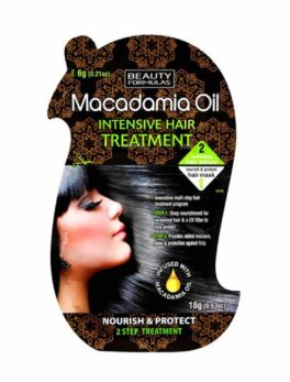 Beauty Formulas macadamia oil hair treatment in Carnesia
