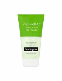 Neutrogena Visibly Clear Pore & Shine Daily Scrub 150ml in Carnesia