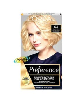 Loreal Paris Preference Luminous Colour Full Of Reflects 03 Glasgow in Carnesia