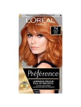 Loreal Paris Preference Luminous Colour Full Of Reflects 74 Dublin in Carnesia