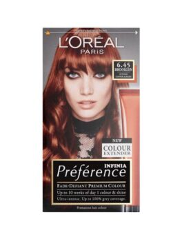 Loreal Paris Preference Luminous Colour Full Of Reflects 6.45 Brooklyn in Carnesia