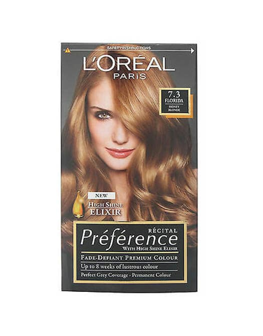 Loreal Paris Preference Luminous Colour Full Of Reflects 7.3 Florida in Carnesia