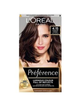 Loreal Paris Preference Luminous Colour Full Of Reflects 4.15 Caracas in Carnesia