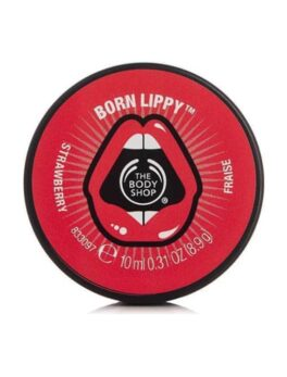 The Body Shop Born Lipp Pot Lip Balm - Strawberry