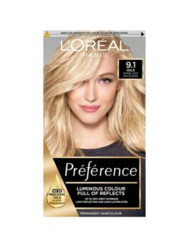 Loreal Paris Preference Luminous Colour Full Of Reflects 9.1 Oslo in Carnesia