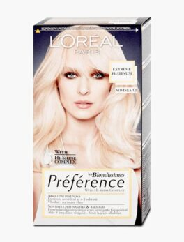 Loreal Paris Preference Luminous Colour Full of Reflects -Extreme Platinum
