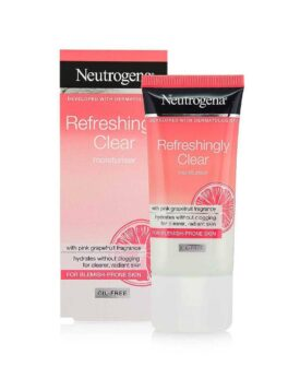 Neutrogena Refreshingly Clear Moisturiser 50ml- Pink Grapeeruit in Bangladesh