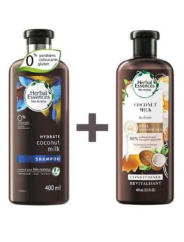 Herbal Essences Bio:Renew Hydrate Coconut Milk Shampoo + Conditioner 400ml in Bangladesh