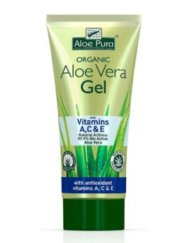 Aloe Pura Organic Aloe Vera Gel & Vitamin A C & E 200ml in Carnesia