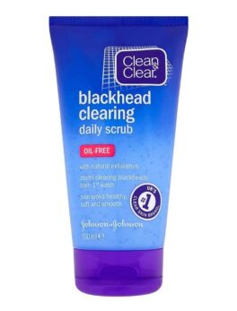 Clean & Clear Blackhead Clearing Daily Scrub 150ml in Bangladesh