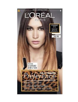 L'Oreal Paris Preference Luminous Color Full Of Reflects - Ombre N.1 in Bangladesh