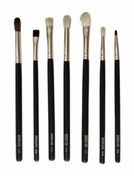 7 pieces Eye Brush Set (Blending Brush)-Black in Bangladesh