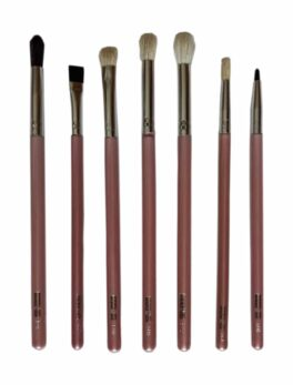 7 pieces Eye Brush Set (Blending Brush)-Brown in Bangladesh