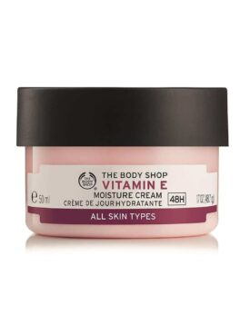 The BodyShop Vitamin E Nourishing Night Cream in Carnesia