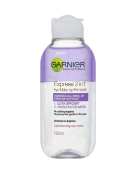 Garnier Express 2 in 1 Eye Makeup Remover-125ml in Bangladesh