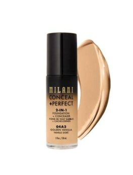 Milani Conceal+Perfect 2 In 1 Foundation - 04A2 Golden Vanilla in Bangladesh