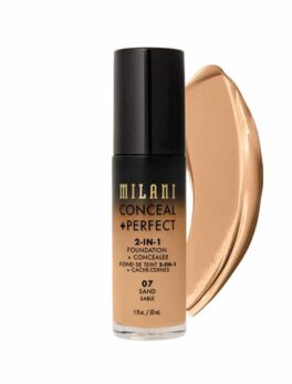 Milani Conceal+Perfect 2 In 1 Foundation-07 Sand