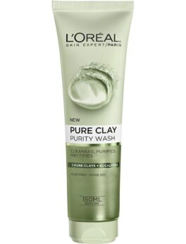 L'Oreal Paris Pure Clay Purity  Wash- 3 Pure Clays+Eucalyptus 150 ml in Bangladesh