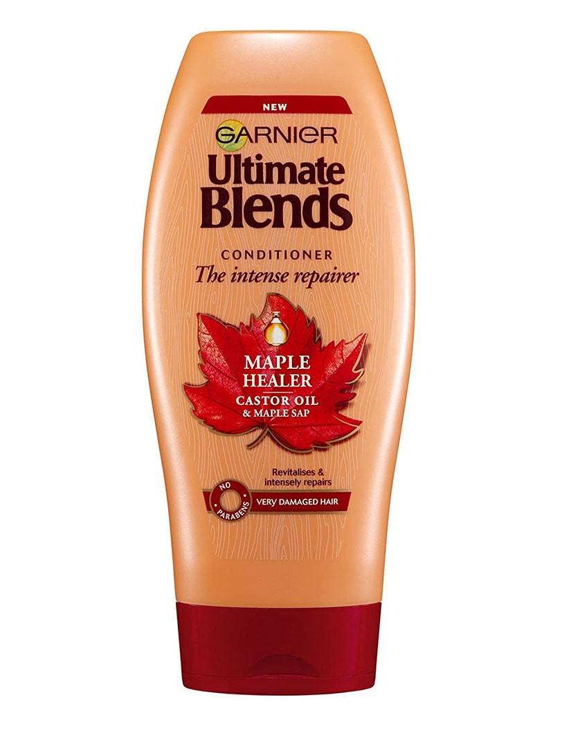 Garnier Ultimate Blends Hair Conditioner- Castor Oil Maple Sap and 360ml in Bangladesh