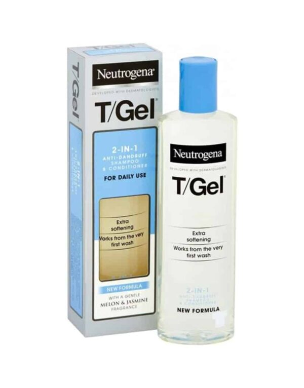 Neutrogena T/Gel 2 in 1 Anti Dandruff Shampoo and Conditioner 250 ml in Bangladesh