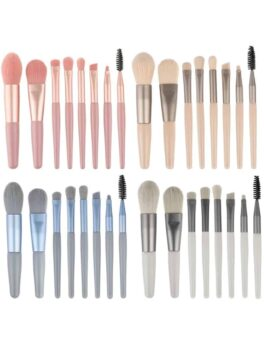 8 Pcs Eye Brow Brush in bangladesh