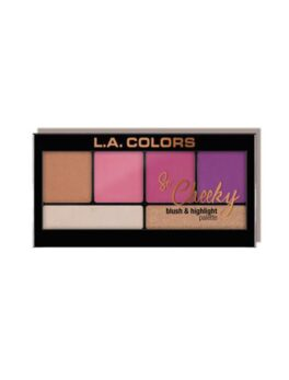 L.A. Colors So Cheeky Blush and Highlighter Palette -Sweet and Sassy in Bangladesh