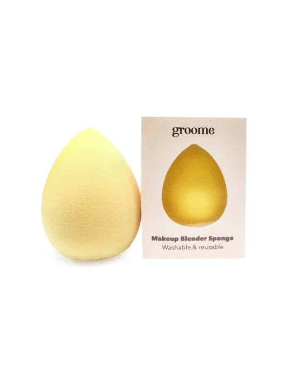 Groome Beauty Blender Sponge (Yellow) in bangladesh