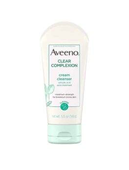 Aveeno - Clear Complexion Cream Face Cleanser With Salicylic Acid - 141g in Bangladesh