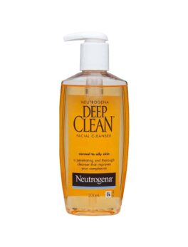 Neutrogena Deep Clean Facial Cleanser For Normal To Oily Skin 200ml in bangladesh