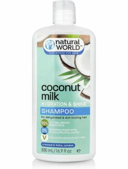 Natural World Coconut Water Hydration and Shine Hair Shampoo 500 ml in bangladesh