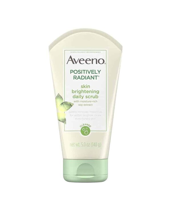Aveeno Positively Radiant Skin Brightening Daily Face Scrub 140g in bangladesh