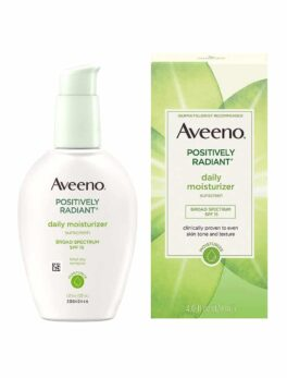 Aveeno Positively Radiant Daily Facial Hydrating SPF 15 120ml in bangladesh