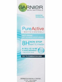 Garnier Pure Active Matte Control Anti Blemish Face Moisturiser 50 ml in bangladesh