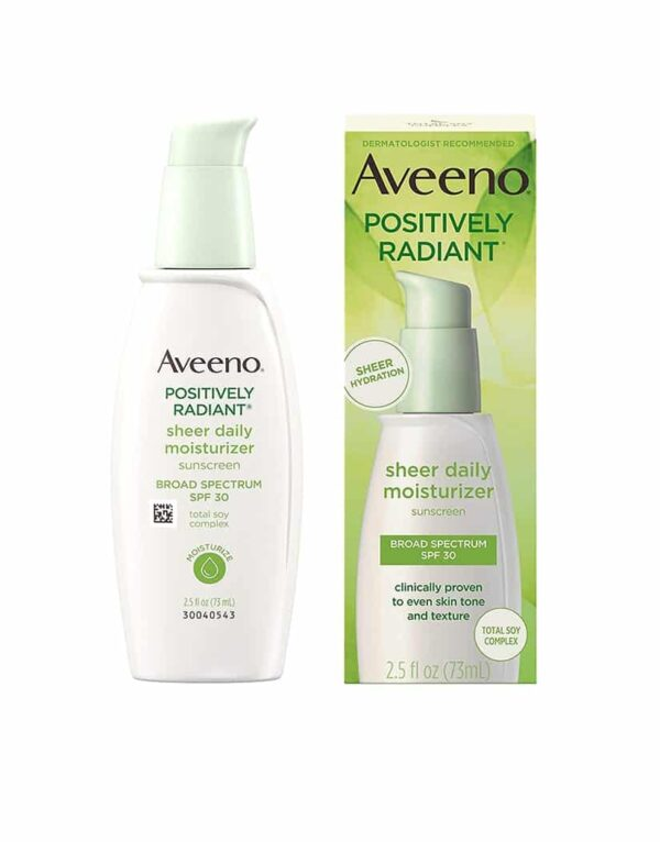 Aveeno Positively Radiant Daily Hydrating Moisturizer and Sunscreen SPF 30 in bangladesh