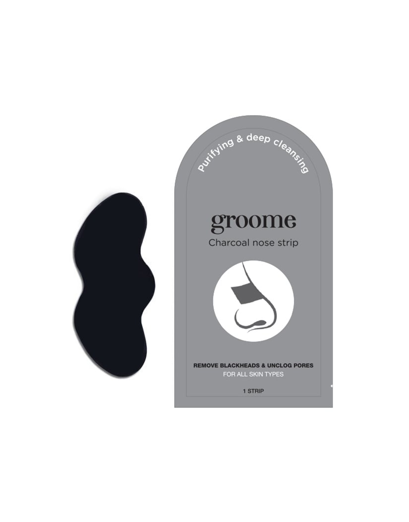 Groome Charcoal Purifying & Deep Cleansing Nose Strip(6 pec) in Bangladesh