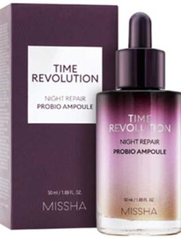 Missha Time Revolution Night Repair Probio Ampoule 50ml in Carnesia