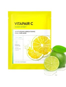 Nature Republic Vitapair C Moisturizing & Brightening Dual Care Mask in Bangladesh