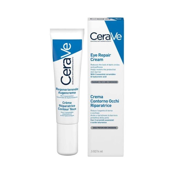 CeraVe Eye Repair Cream 14ml For Dark Circles And Puffiness in Bangladesh