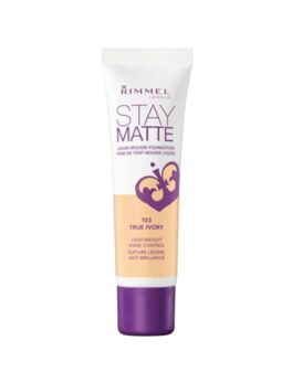 Rimmel London Stay Matte Liquid Foundation 30ml-103 True Ivory in Bangladesh