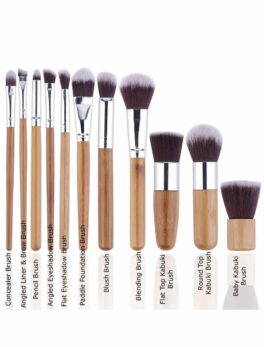 11 Pcs Bamboo Brush Set in bangladesh