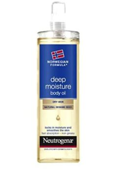 Neutrogena Deep Moisture Body Oil Dry Skin 200ml in bangladesh