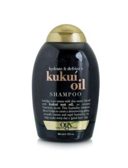 OGX Hydrate & Defrizz + Kukui Oil Hair Shampoo - 385 ml in Carnesia