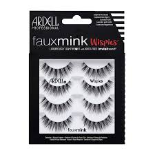Ardell Faux Mink Lashes Wispies 4 Pack