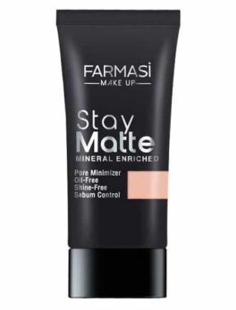 Farmasi Foundation Stay Matte Mineral Enriched Foundation Neutral 03 30 ml